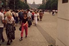 Prag - Tjekkiet - 1990 - Foto: Ole Holbech