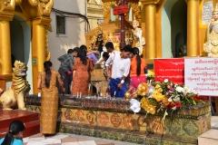 Shwedagon-pagoden - Rangoon - Myanmar - Burma - 2019