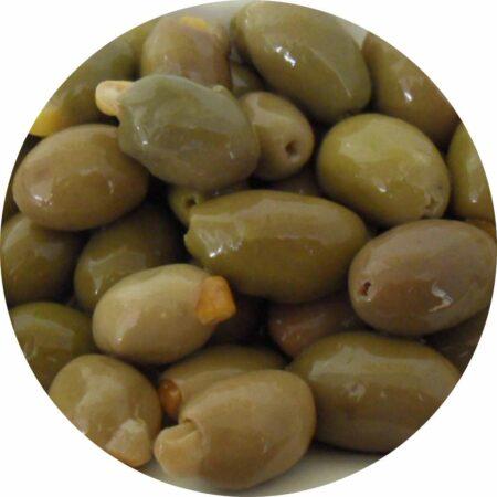 olijven gevuld met citroen