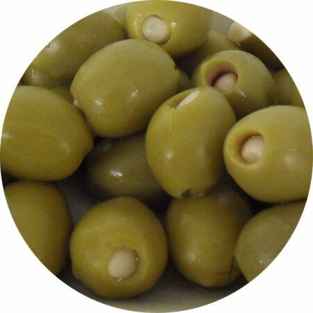 olijven gevuld met knoflook