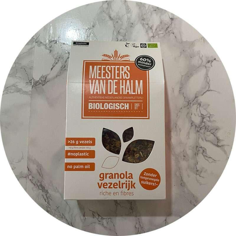 Vezelrijke Granola