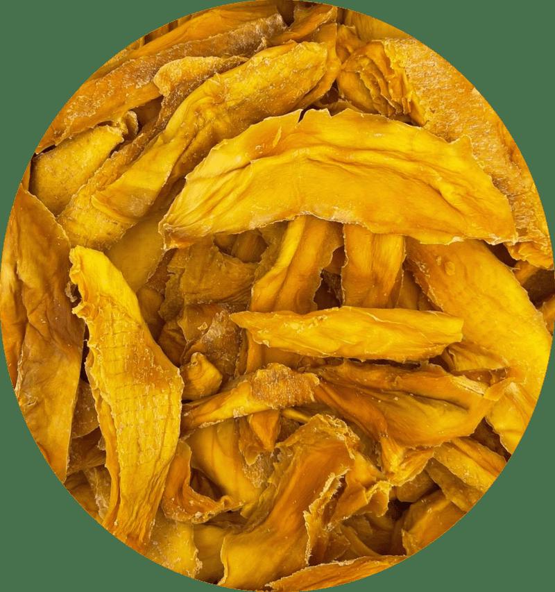 Mango Schijfjes Gedroogd