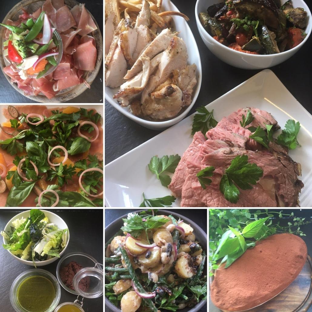 Italiensk buffet