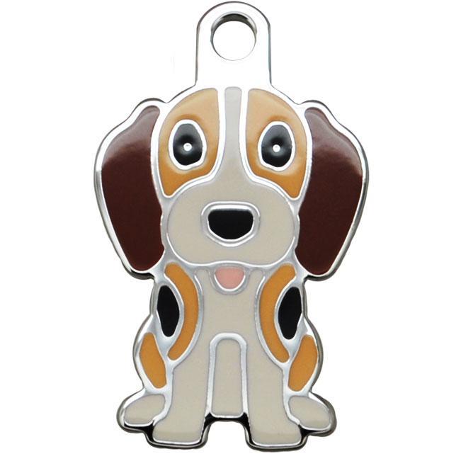 Ollipet Beagle charm m. nøglering Image