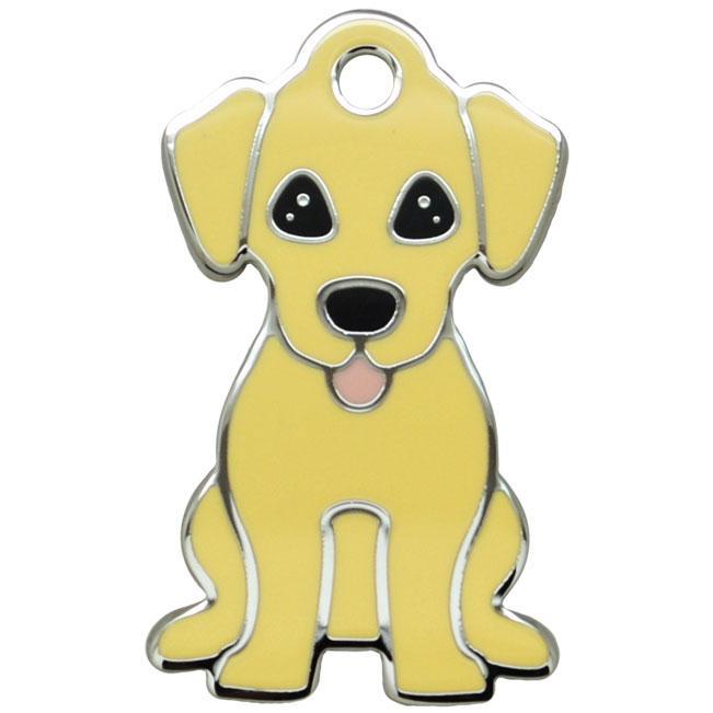 Ollipet Gul Labrador charm m. nøglering Image