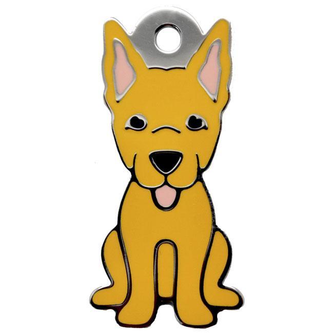 Ollipet Gylden Schæferhunde charm m. nøglering Image