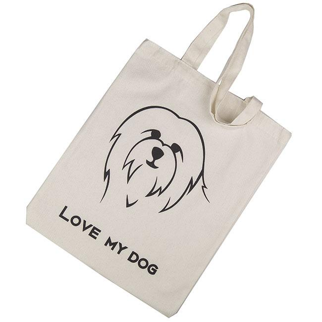 Ollipet Shopper indkøbsnet | Love my dog Image