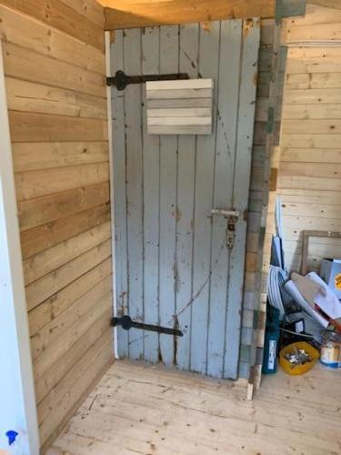 oude deur Ölmühle hergebruikt