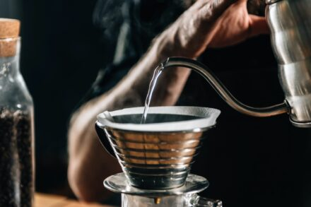 Barista Making Calita Drip