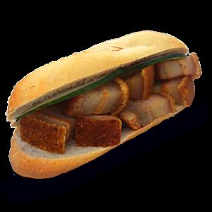 Geroosterde Buikspek Omoe