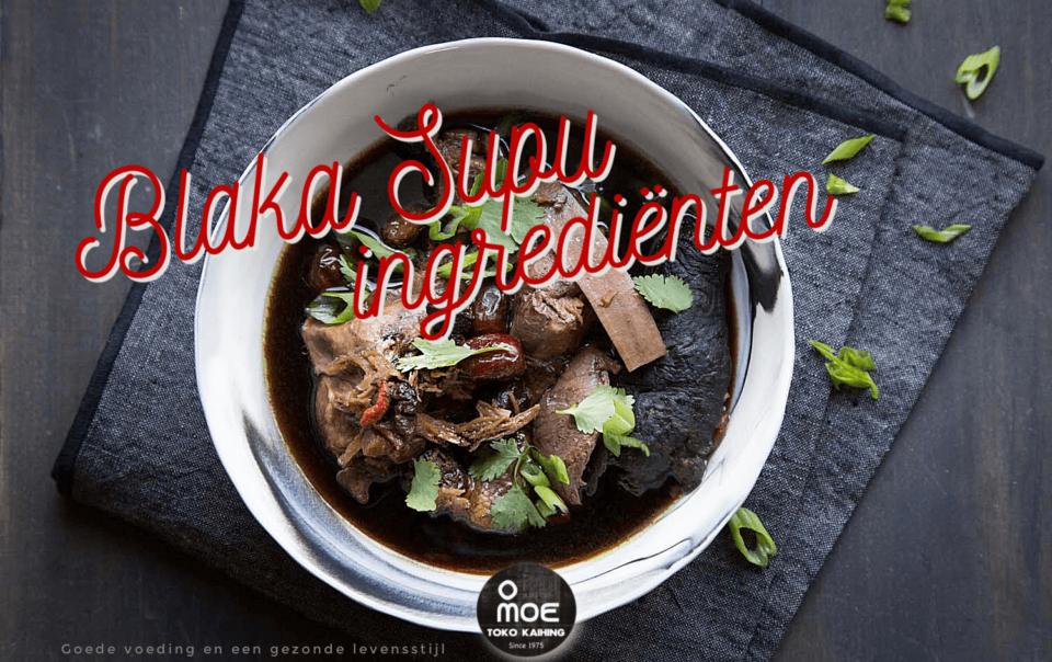 Blaka Supu ingrediënten
