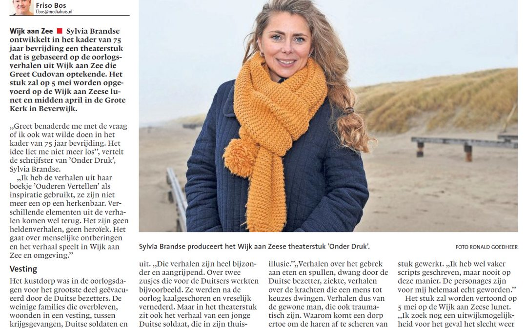 Artikel in Noordhollands Dagblad