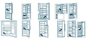 koelkast / koel vriescombinatie  typenummer onderdelen bestellen