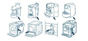 typenummer of het modelnummer van mijn Koffieautomaten- koffiemachine- Espressomachines  onderdelen bestellen via typenummer