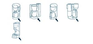 koffiezetapparaat onderdeel bestellen via het typenummer van het apparaat