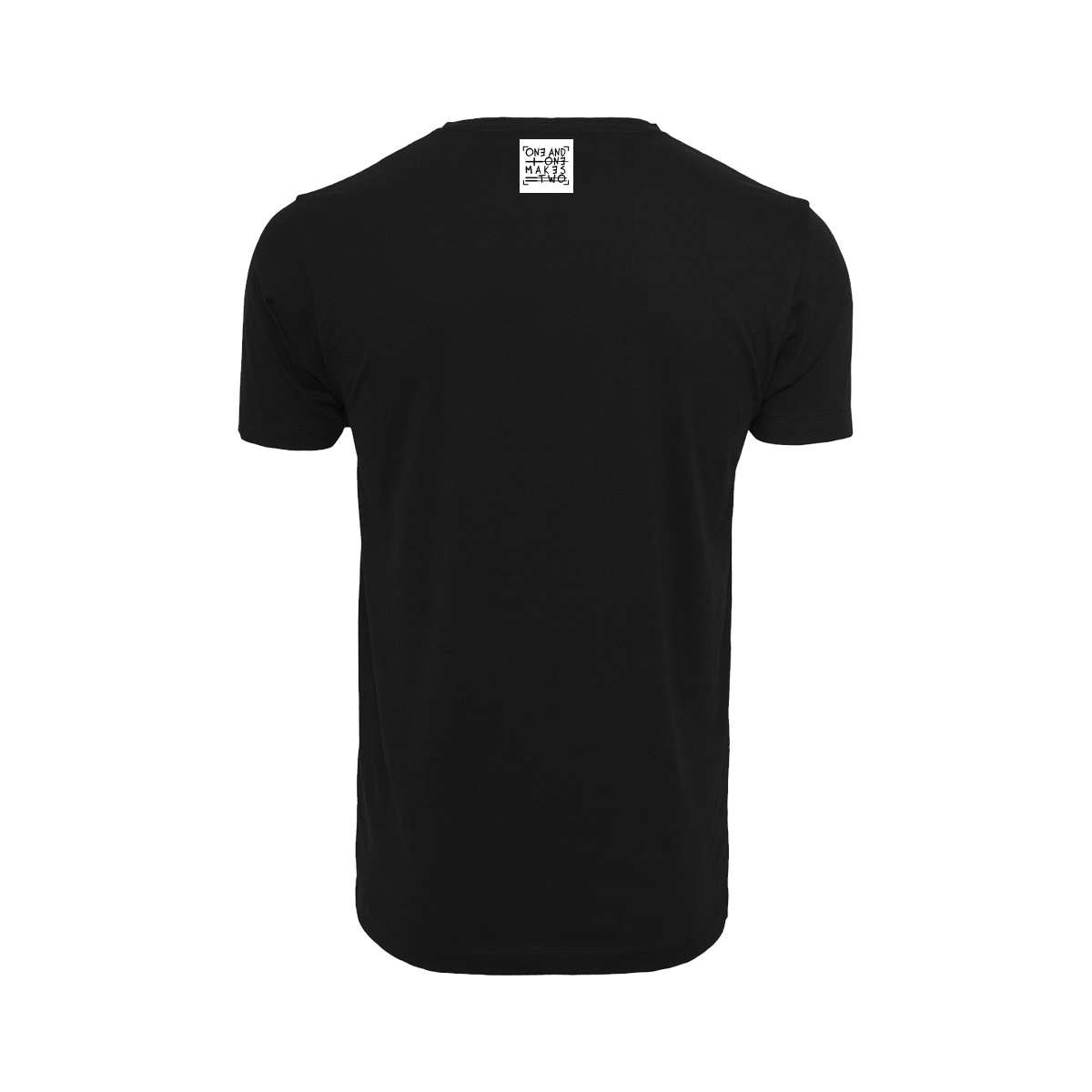 ONE AND ONE MAKES TWO - T-shirt - BLK back - Frank Willems