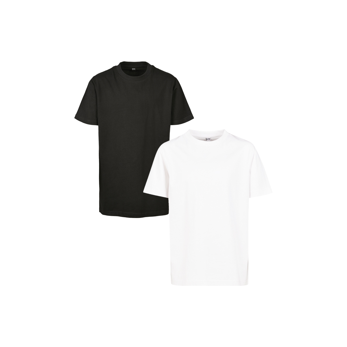 ONE AND ONE MAKES TWO - T-shirt Kids - BLK WHT - Frank Willems