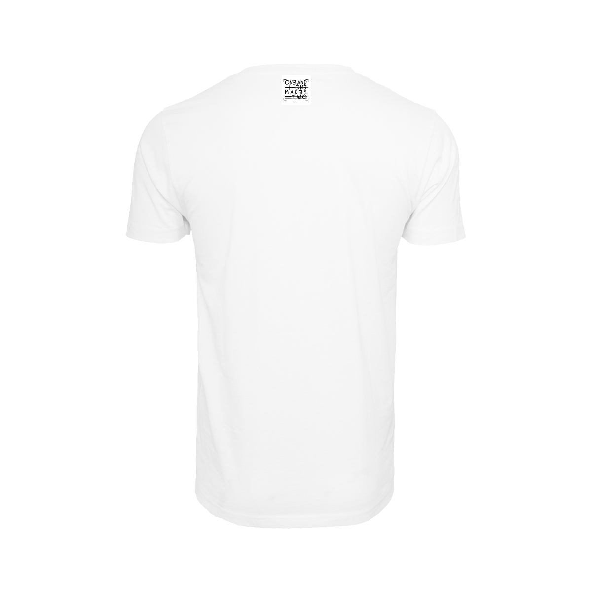 ONE AND ONE MAKES TWO - T-shirt - WHT back - Frank Willems