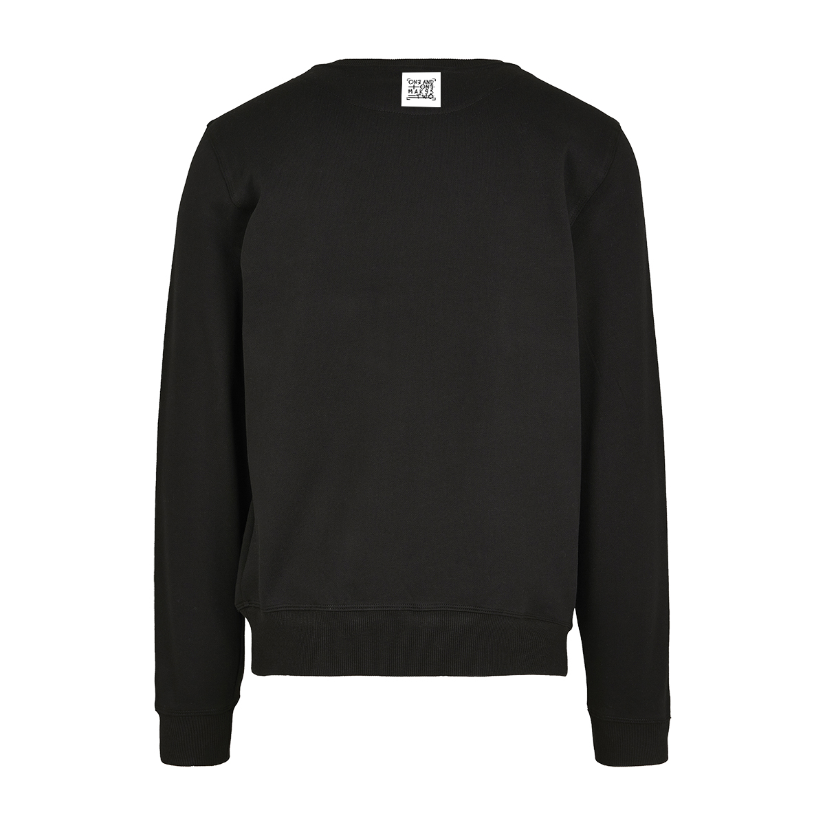 ONE AND ONE MAKES TWO - sweater - BLK back - Frank Willems