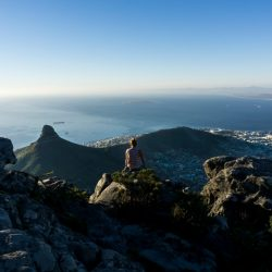 The sport capital of Africa Cape Town Hiking Table Mountain