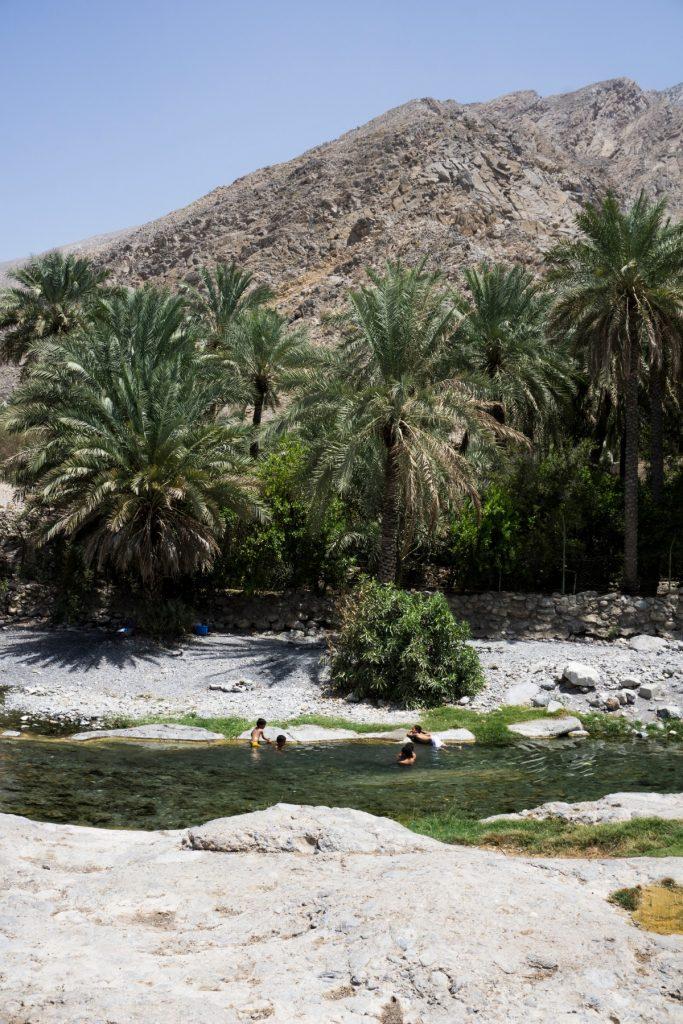 Al Thowarah Hot Springs Oman One Second