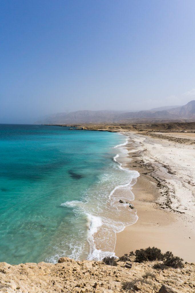 Fins Beach Oman One Second