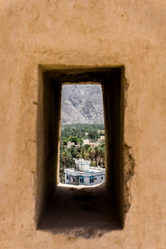 Fortress of Nakhal in Oman One Second