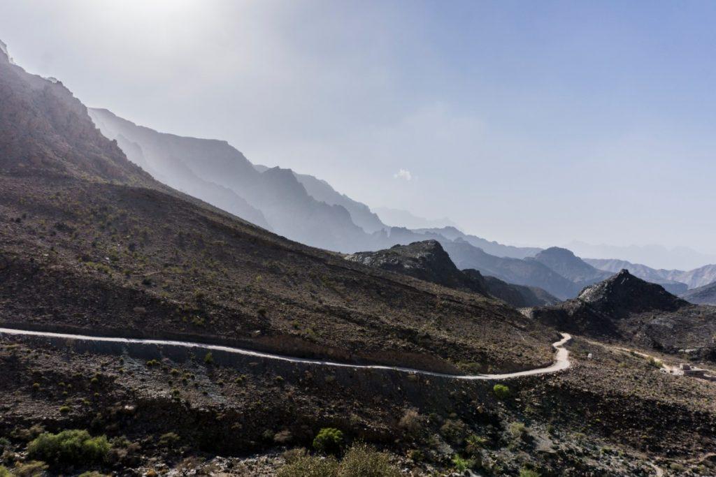Un aperçu d'Oman - Terre des 1001 nuits-Al Hajal montagnes