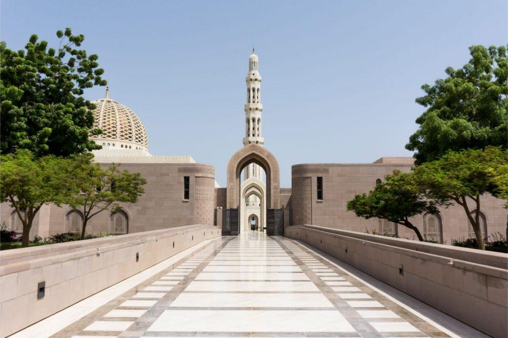 Un aperçu d'Oman - Terre des 1001 nuits-Grande mosquée à Oman