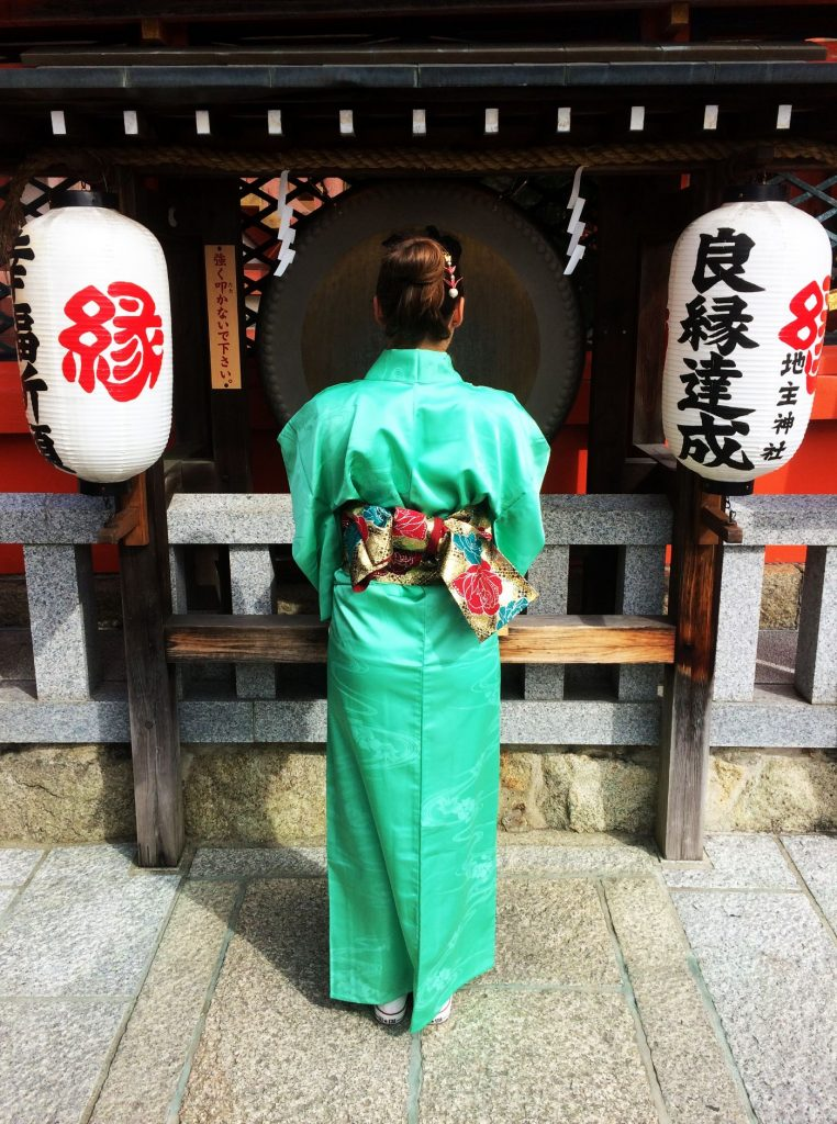 Unique experience in Kyoto, dressed up like a geisha
