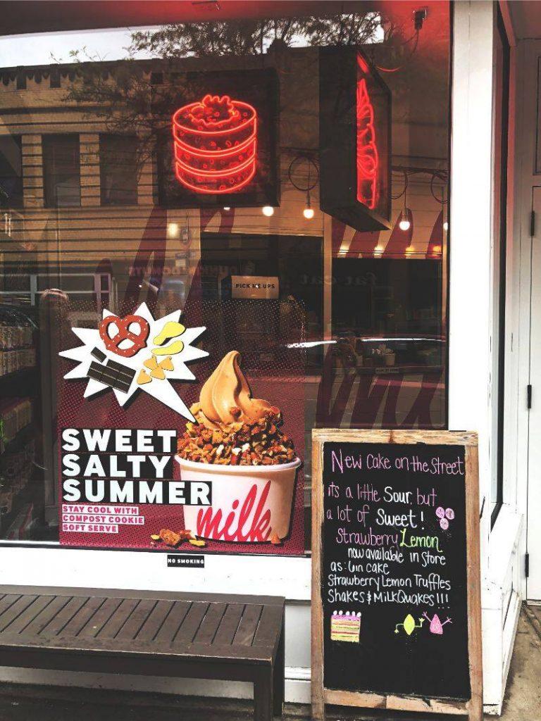 Food guide New York: Milkbar NY