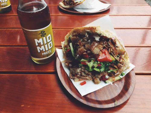 Döner Kebab mit Mate