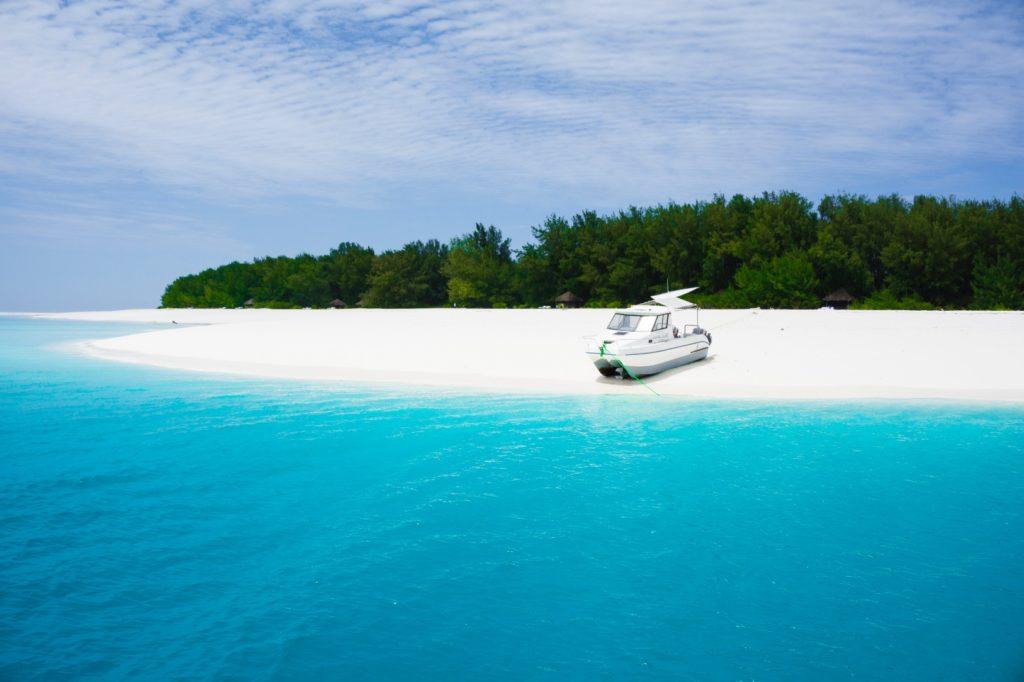 Mnemba Island in Zanzibar