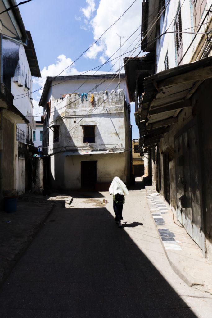 Small alleys of Stone Town Zanzibar