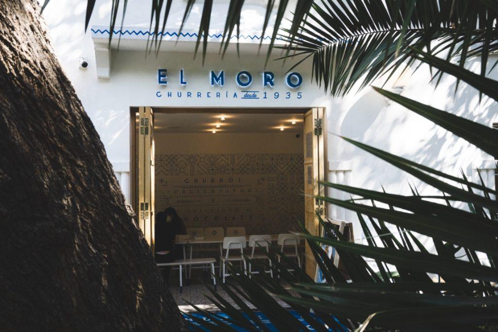 El Moro churros in Mexico City