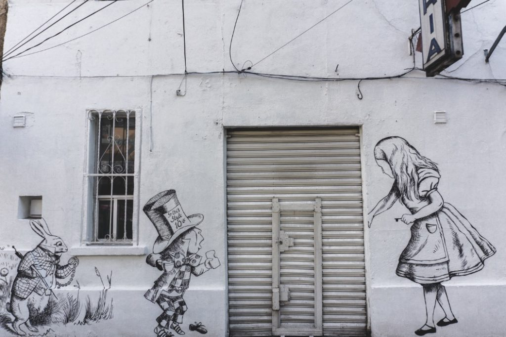 Urban art in Roma Mexico City