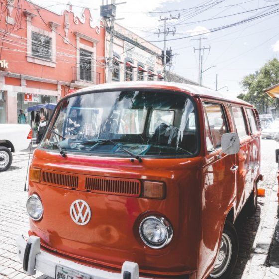 Volkswagen T1 in Mexico City