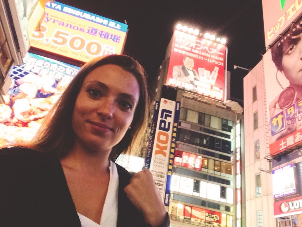 First time in the vibrant street of Dotonbori Canal - Osaka
