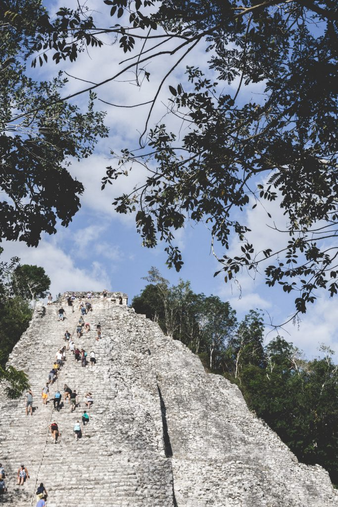 Yucatán, Off the beaten path itinerary, Visit of Coba, Nohoch Mul