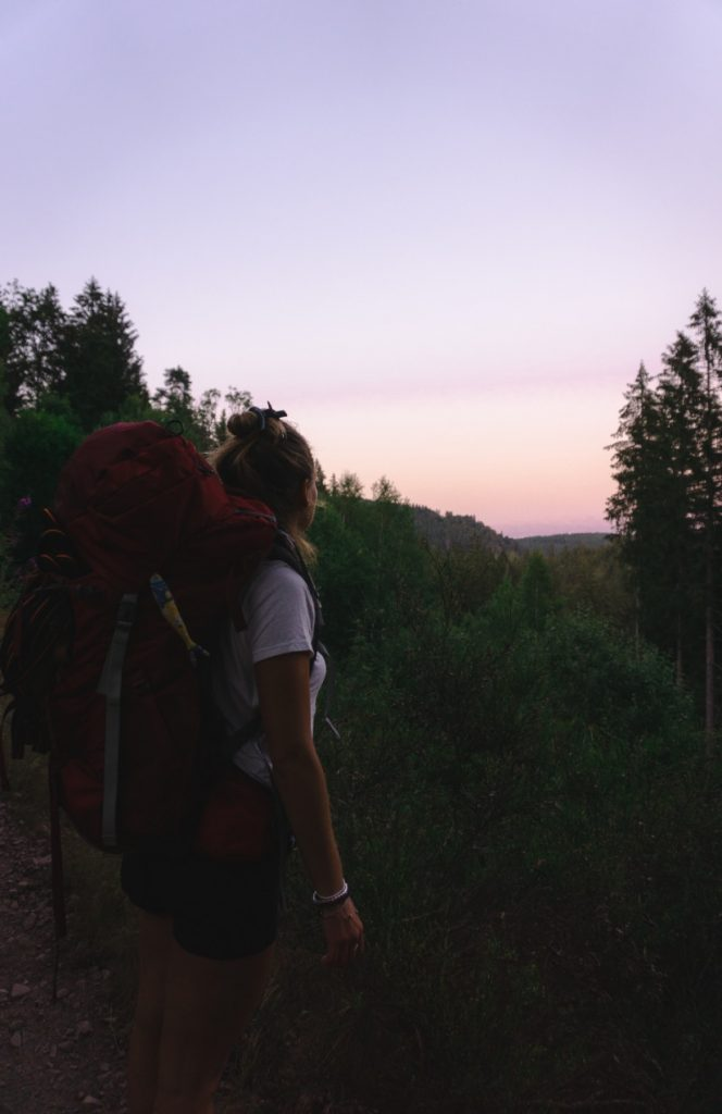 7-days road trip in southern Germany - Early start in the morning - Hiking in the Black Forest