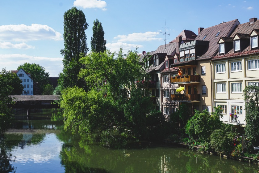 Discovering the charming city of Nuremberg during our road trip in southern Germany