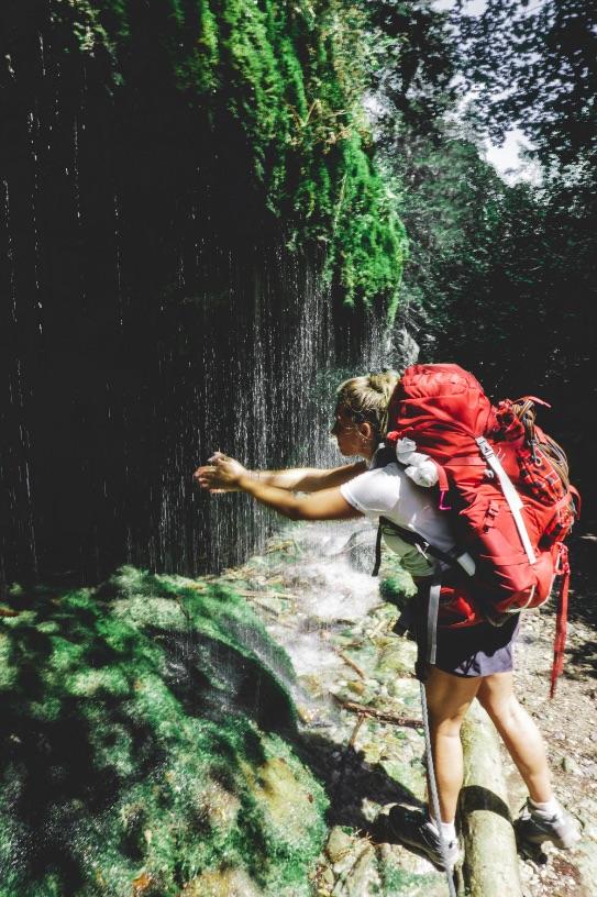 Cascade - le sac à dos idéal pour une randonnée dans la forêt noire