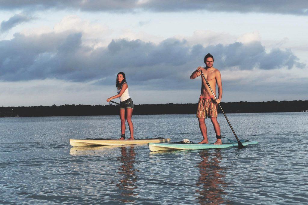 Découverte paisible de Bacalar en Stand Up Paddle - One Second Journal
