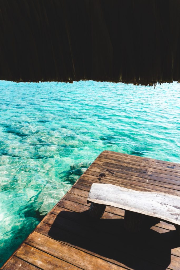 Dock view on Laguna Bacalar - Yucatán, Mexico in pictures