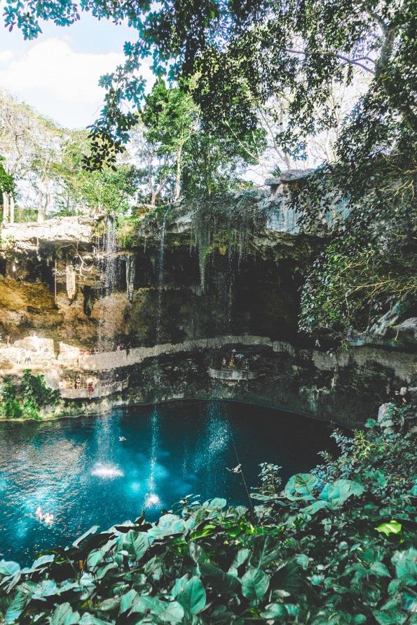 Zací Cenote - Valladolid - Yucatán, Mexico in pictures