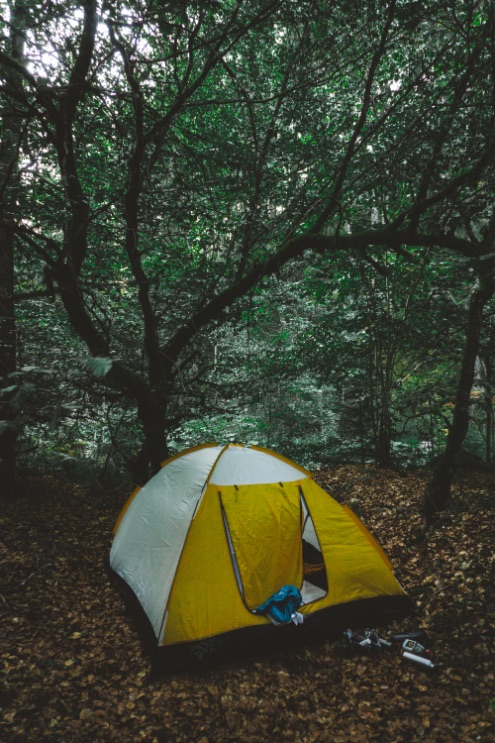 One Second Journal - choisir le bon matériel - tente