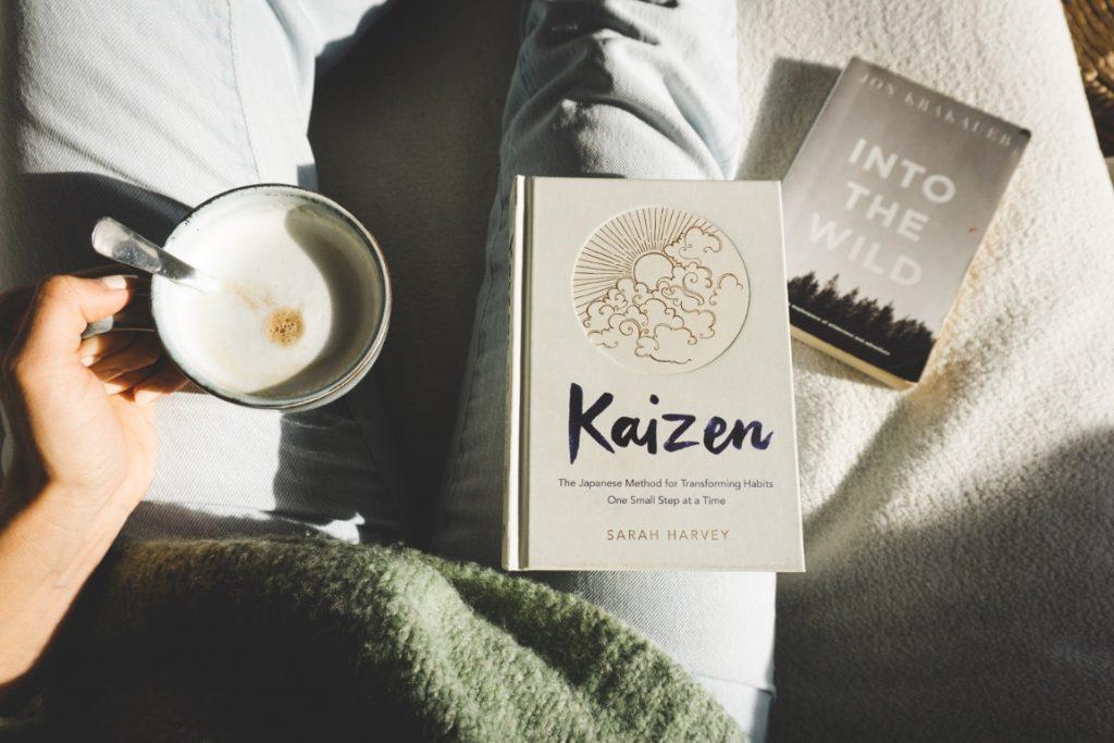 Sustainable christmas gifts ideas - Open minding books - Kaizen