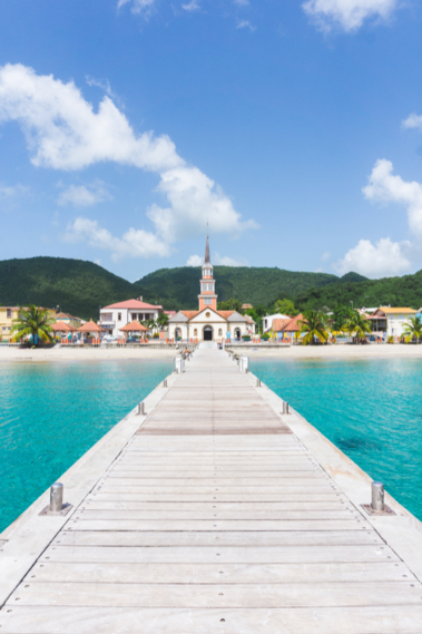 Pier & Church - Anses d'Arlet - Most beautiful places to see in Martinique