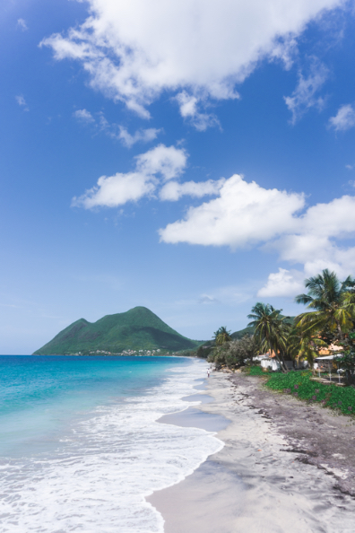 Plage du Diamant - Martinique - One Second Journal