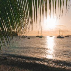 Coucher de soleil au Trois-Ilets - Les plus beaux endroits à voir en Martinique - One Second Journal